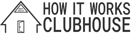 How It Works Clubhouse long logo
