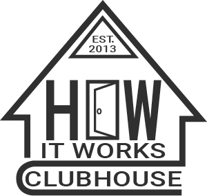 How It Works Clubhouse square logo